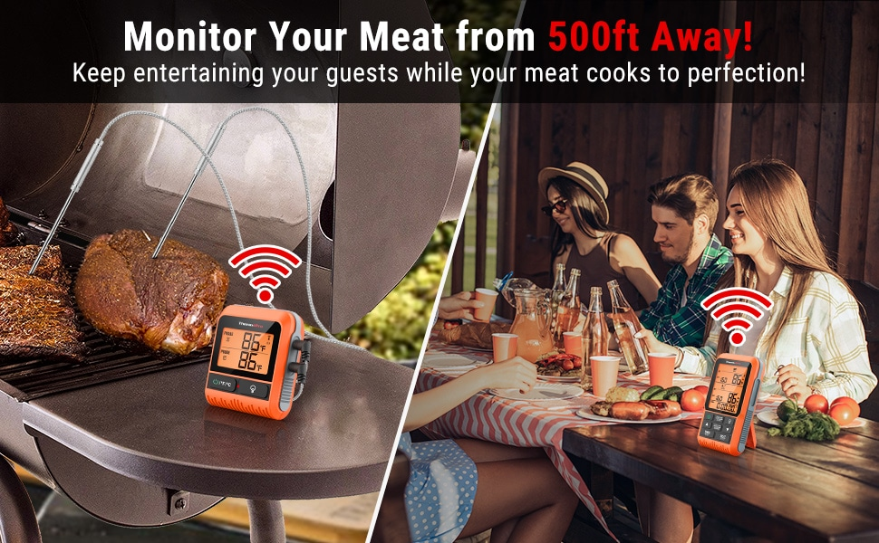 Monitor Meat from 500ft Away
