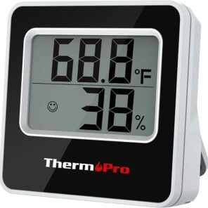 ThermoPro TP157 Digital Indoor Hygrometer Thermometer